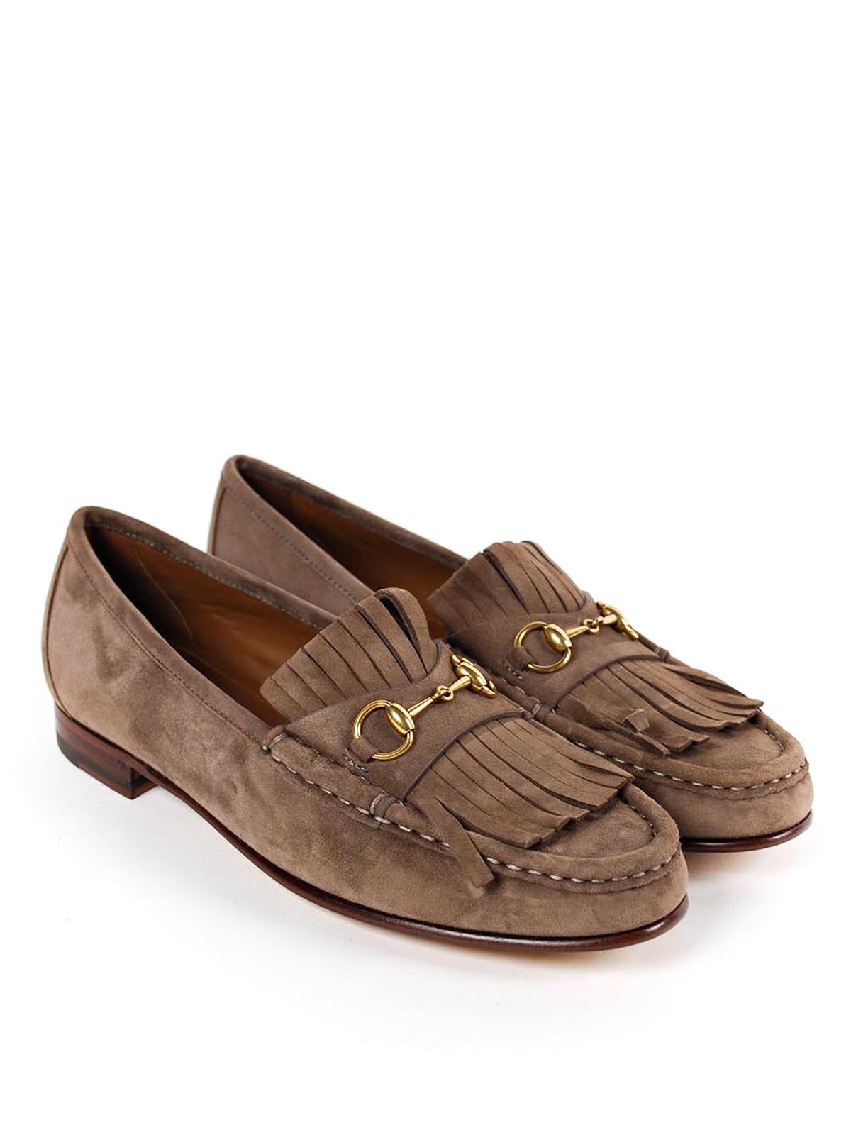 Black Suede Shoes Men Loafers