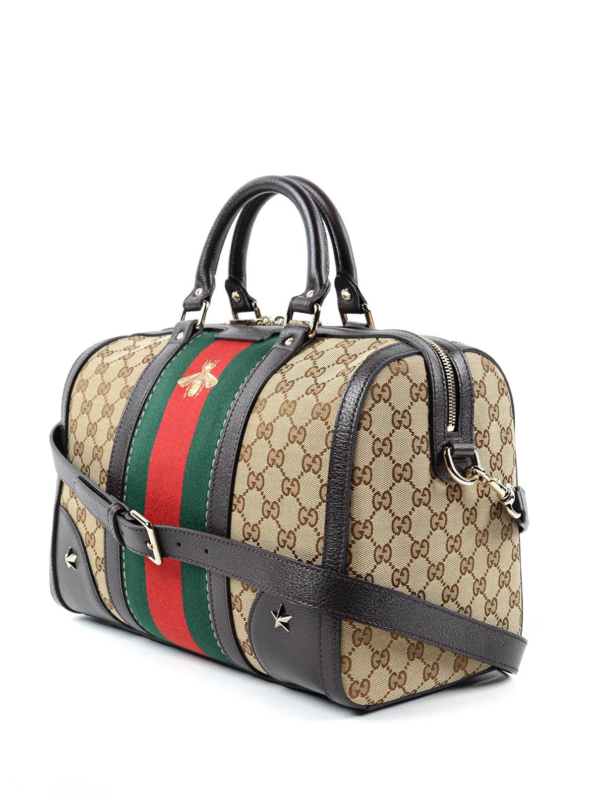 0639a0a6f9ea6 Vintage Web embroidered bag by Gucci - Luggage   Travel bags