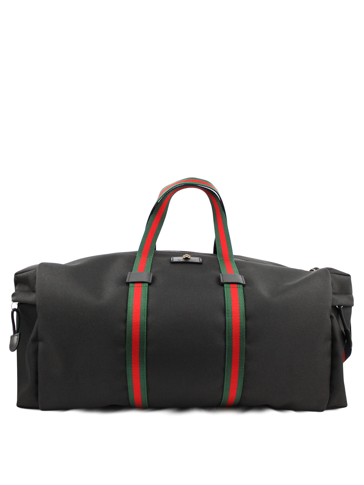 web details canvas duffle bag by gucci luggage travel bags ikrix. Black Bedroom Furniture Sets. Home Design Ideas