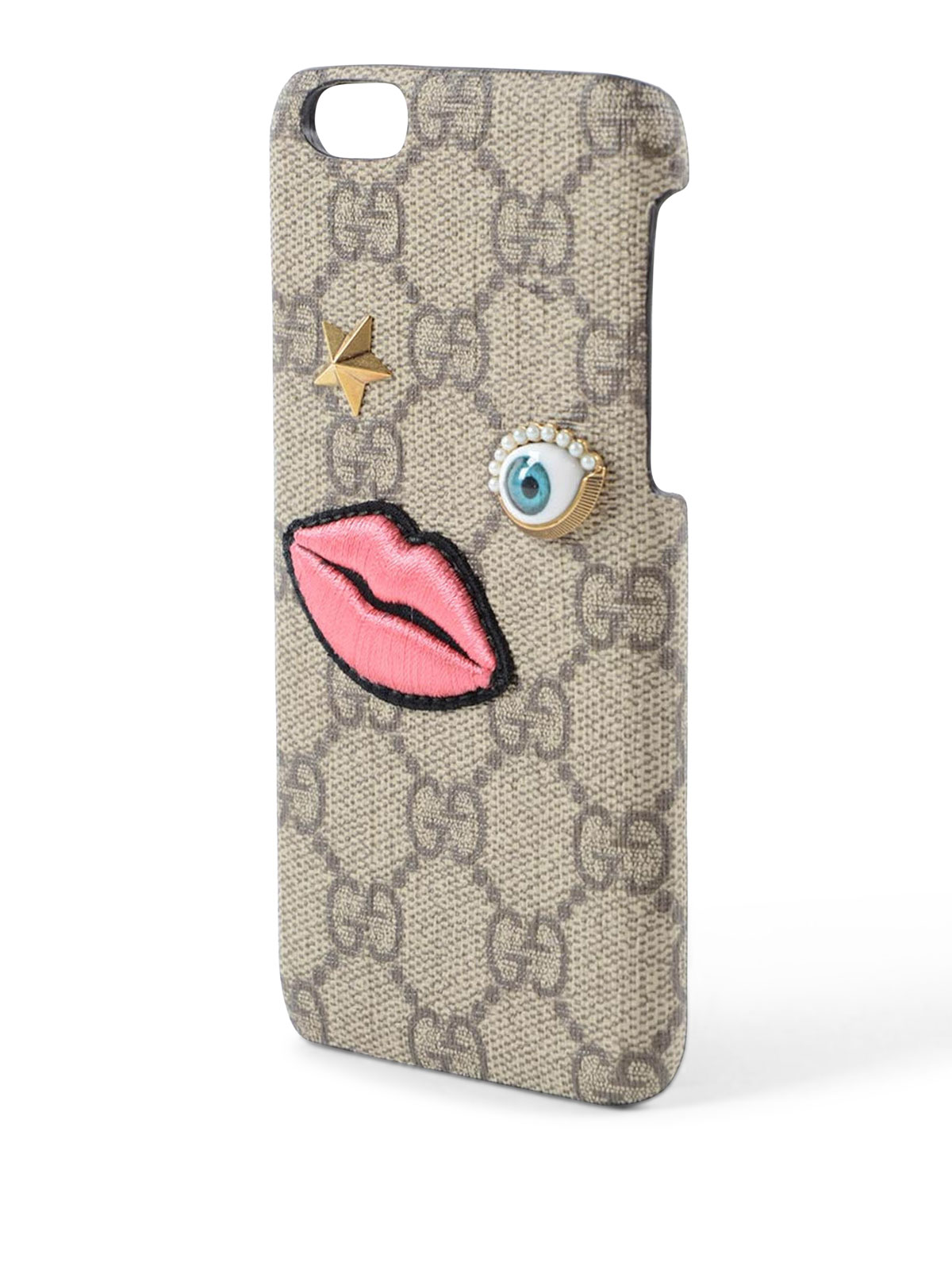 meet c2b1f b2c58 Gucci - GG Supreme iPhone 6 case - Cases & Covers - 431406 K05UT 8875