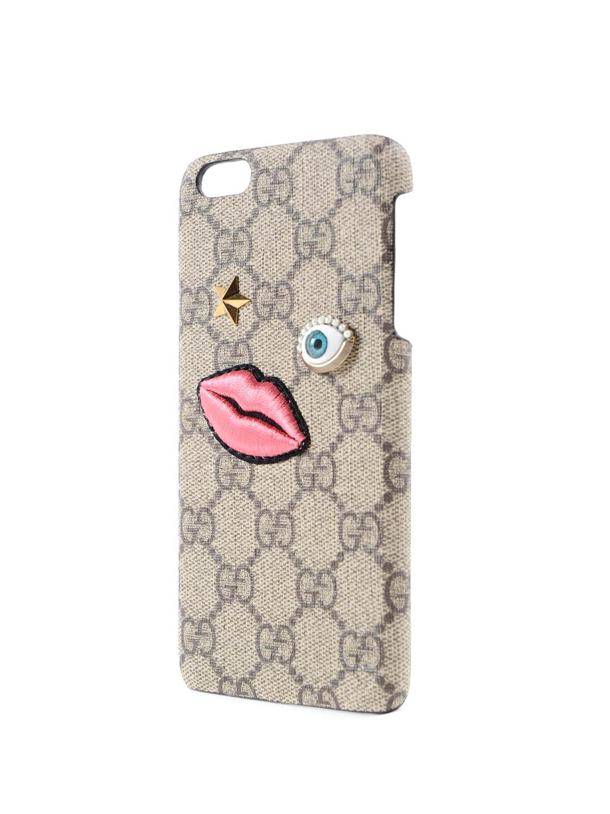 outlet store 695de bac94 Gucci - GG Supreme iPhone 6PL - Cases & Covers - 431407/K05UT 8875