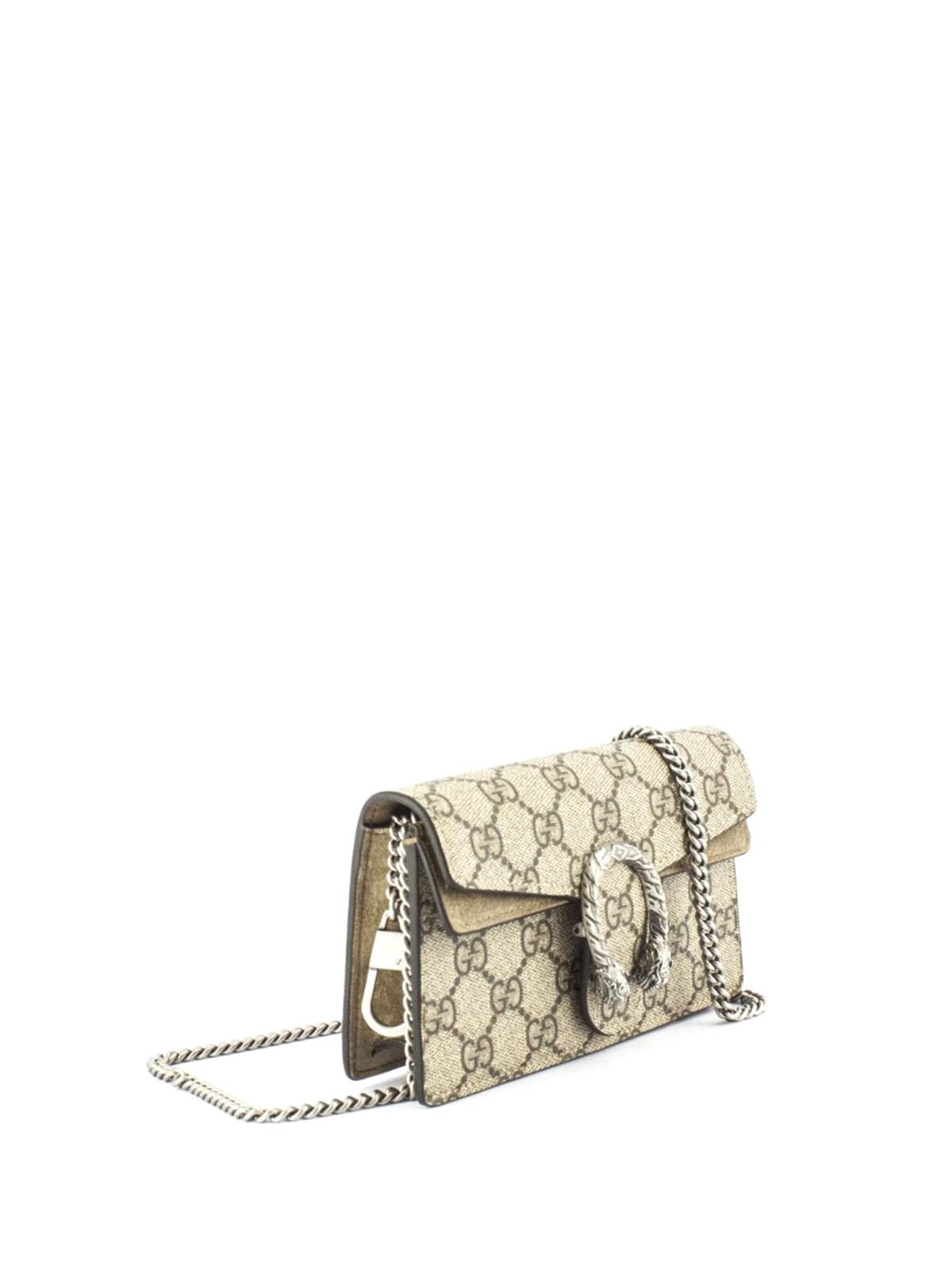 72480e4e81cd Gucci - Dionysus GG Supreme mini bag - clutches - 476432KHNRN8642