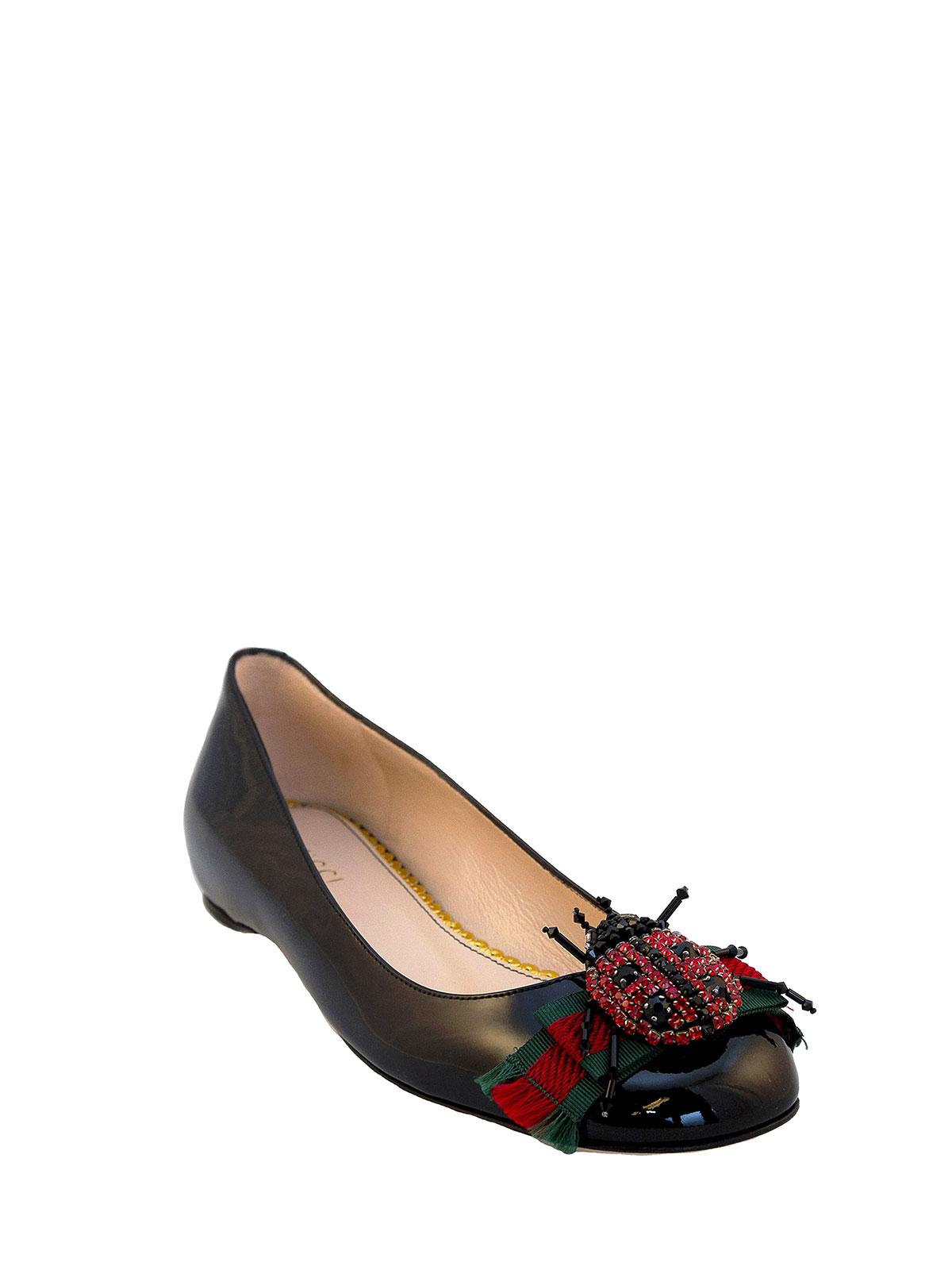 patent flats - flat shoes