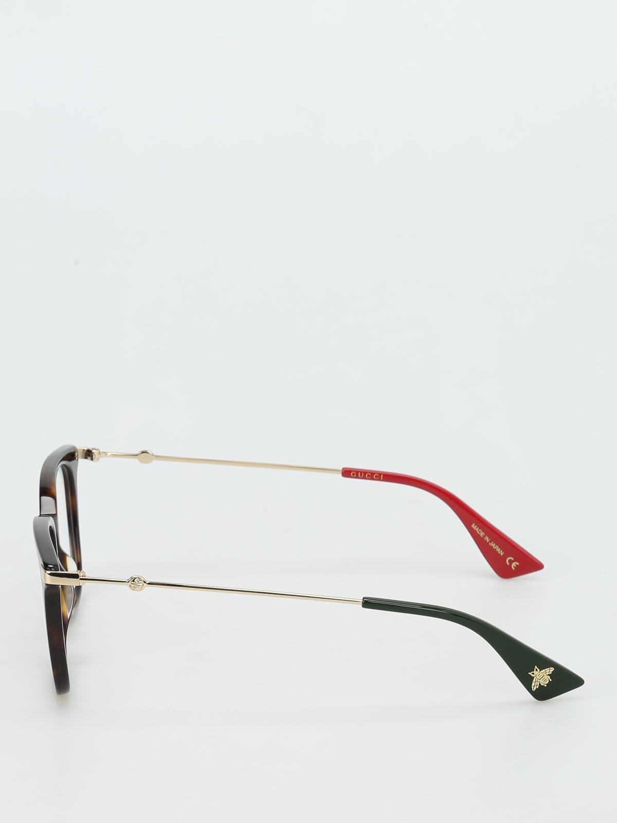 f97c5fe6a9 Gucci - Tortoise square optical glasses - glasses - GG0110O2