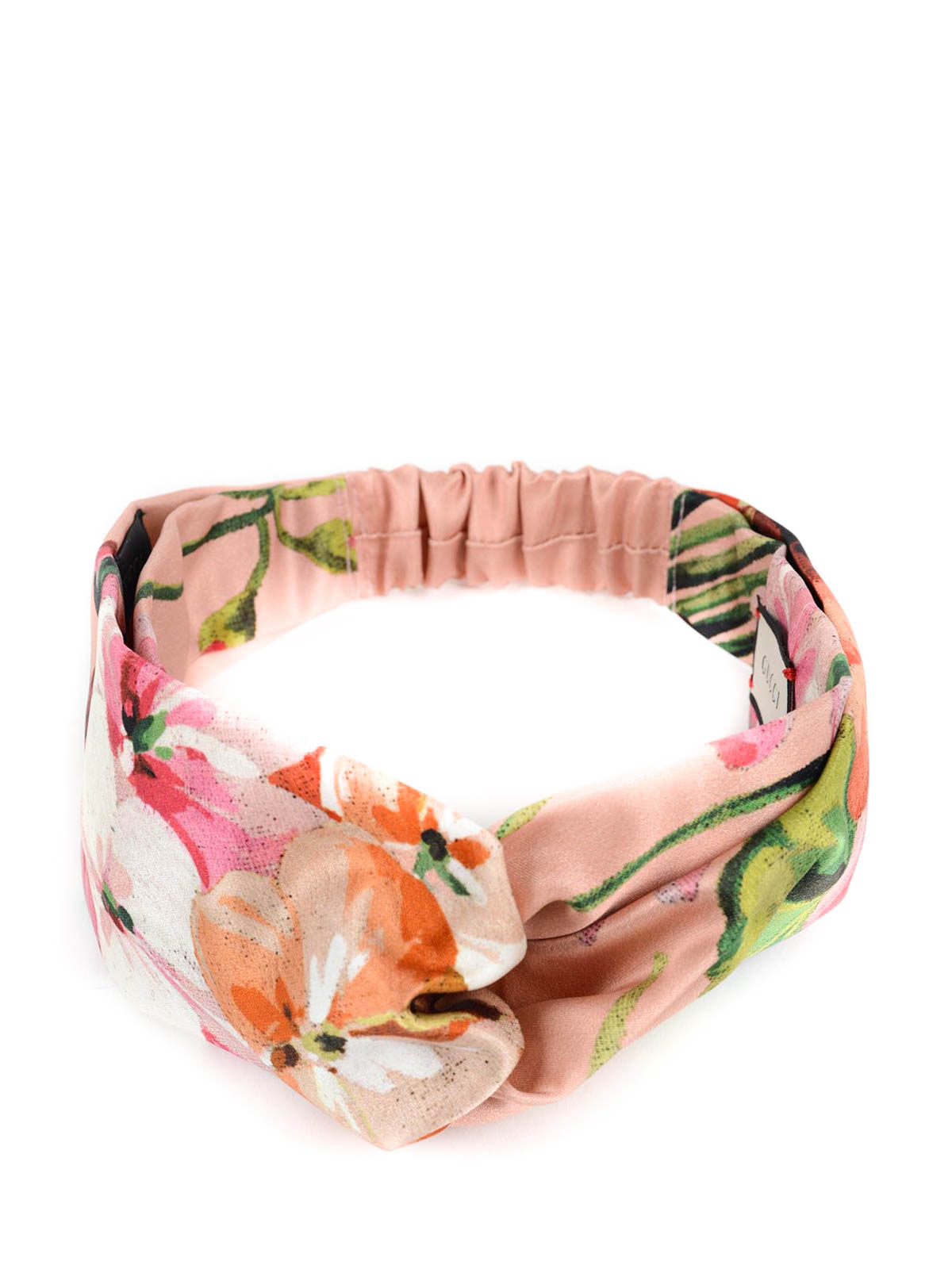 3ddc742ce09 Gucci - Silk headband with Blooms print - hair accessories - 414954 ...