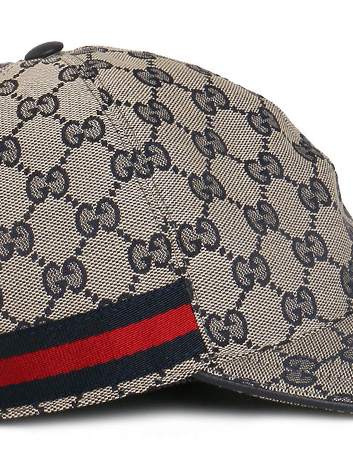 Gucci - GG supreme baseball hat - hats   caps - 200035 F4CRG 4080 7769fd55280