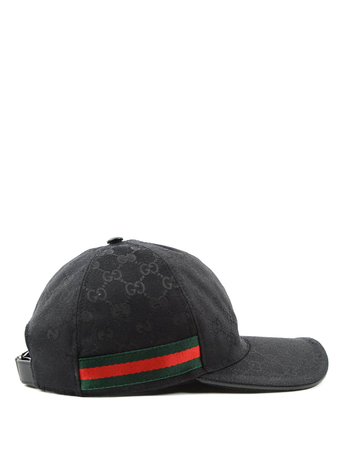 Gucci - GG SUPREME BASEBALL HAT - hats   caps - 200035 KQWBG 1060 3a351fd75b2