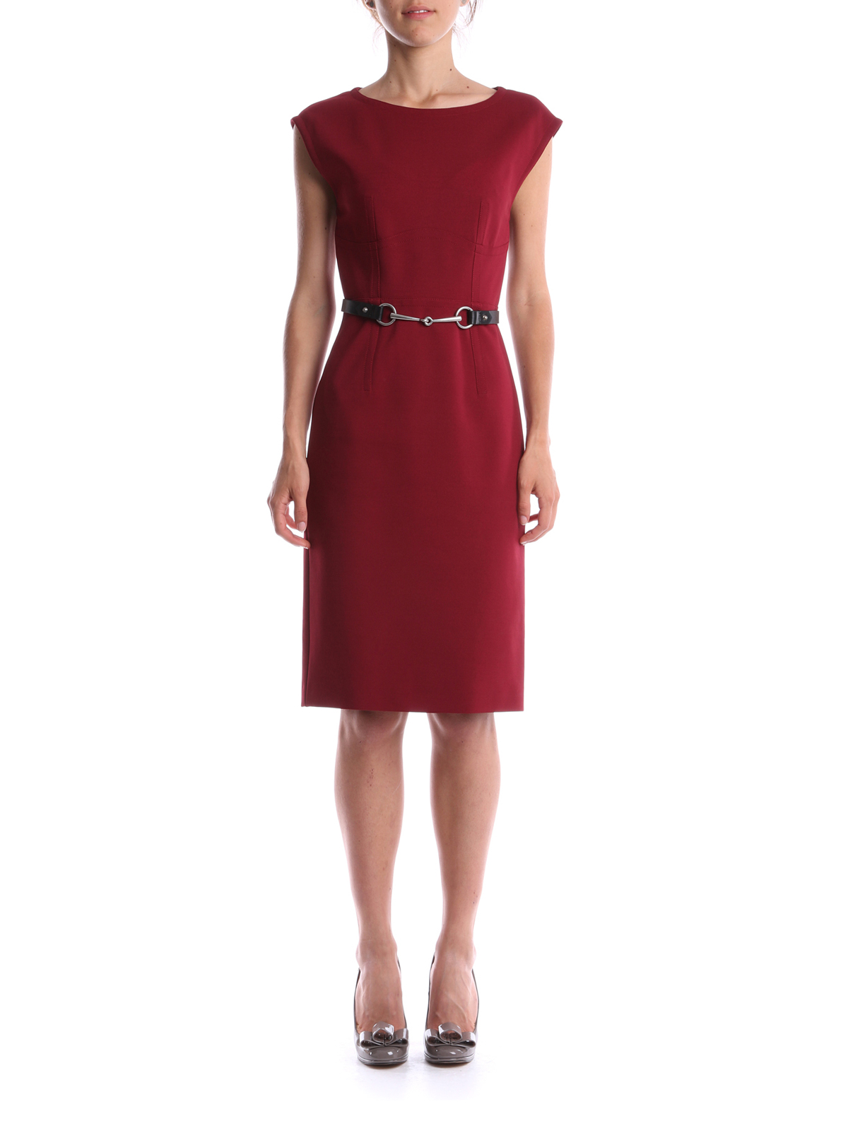7c0d71a8c Gucci - Belted dress - knee length dresses - 389840 X5568 218 ...