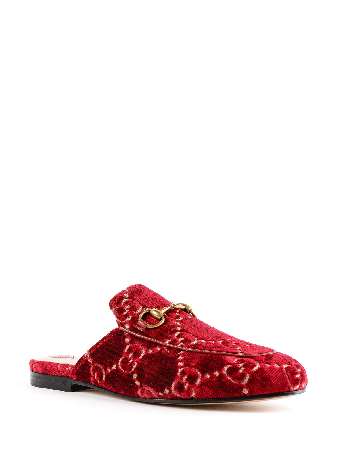 302a3a203dc GUCCI  Loafers   Slippers online - Princetown GG velvet slippers