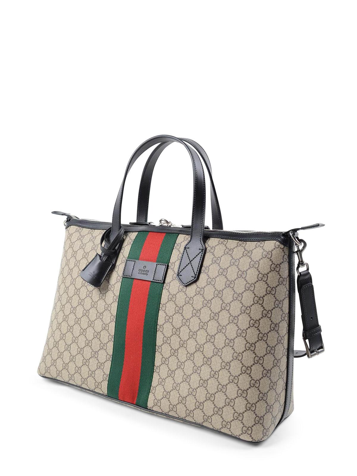 95a8e8168bdc GUCCI: Luggage & Travel bags online - GG Supreme canvas duffle bag