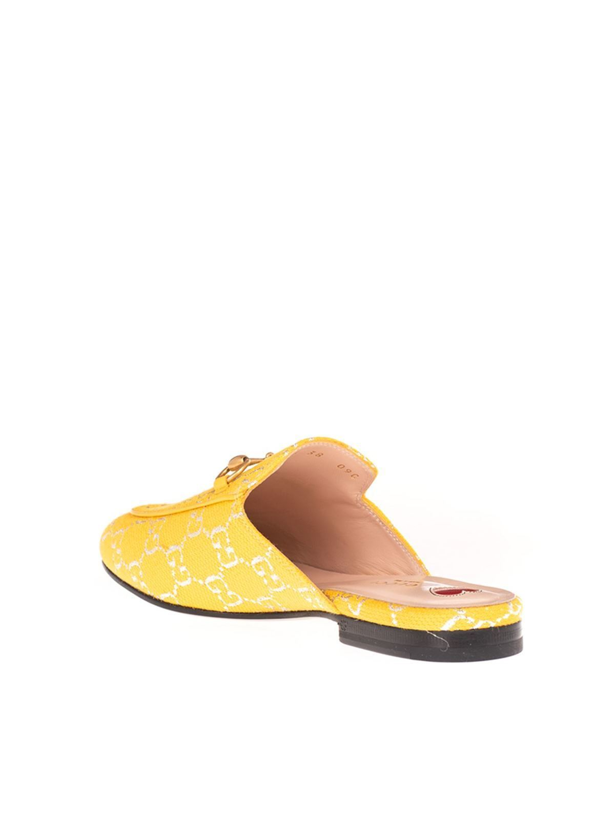 Gucci - Princetown slippers in yellow