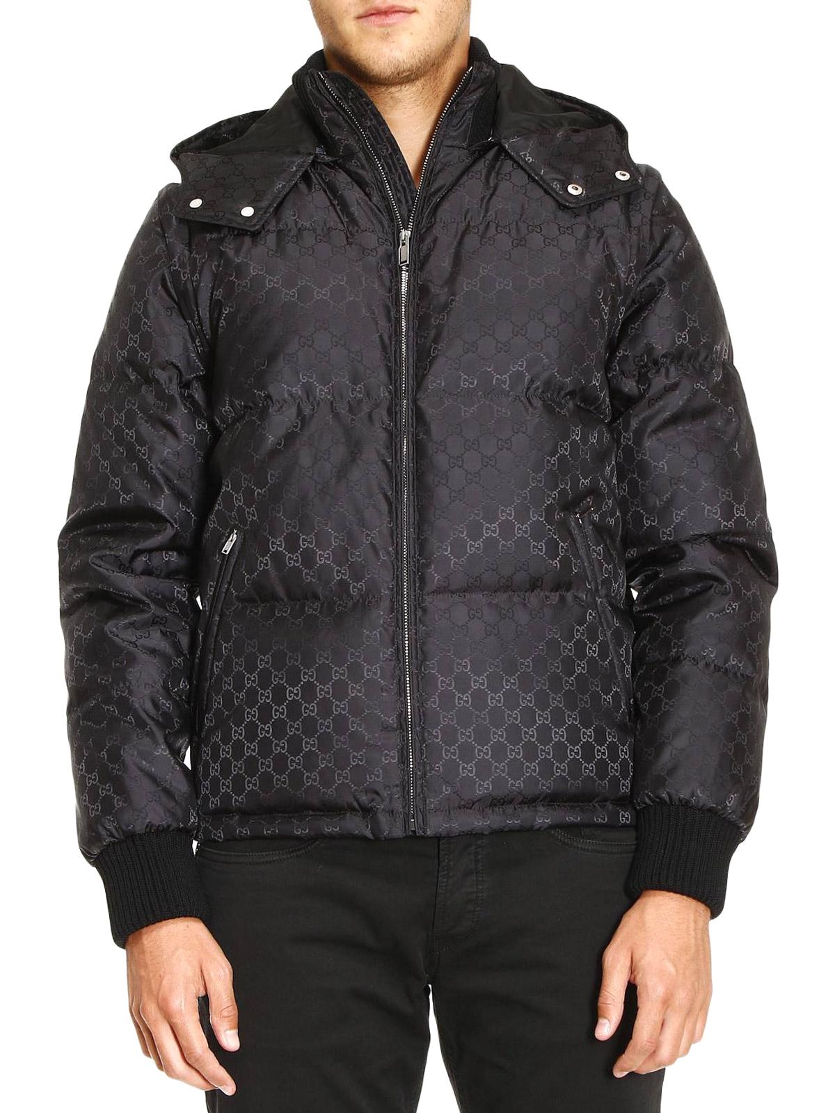 800bae1d4c Gucci - GG jacquard nylon puffer jacket - padded jackets - 473612 ...