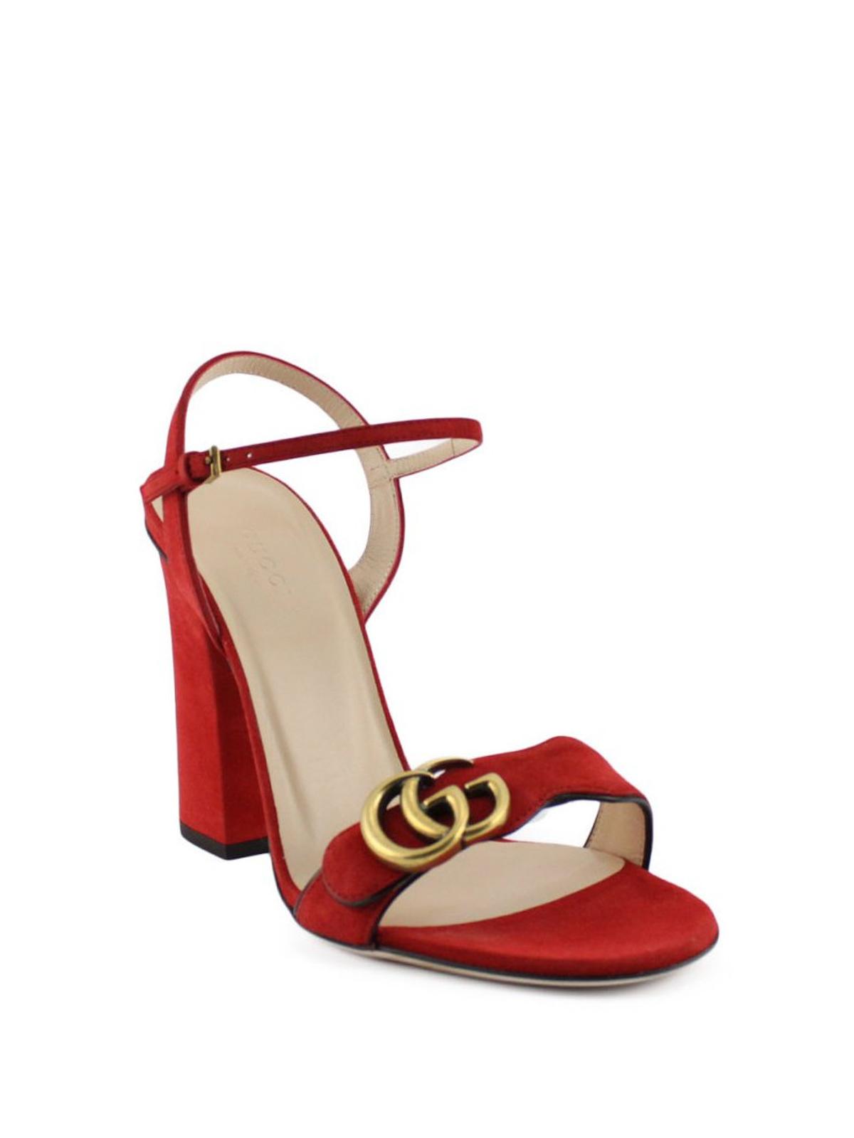 b25709d185c Gucci - Double G suede sandals - sandals - 453378C20006433