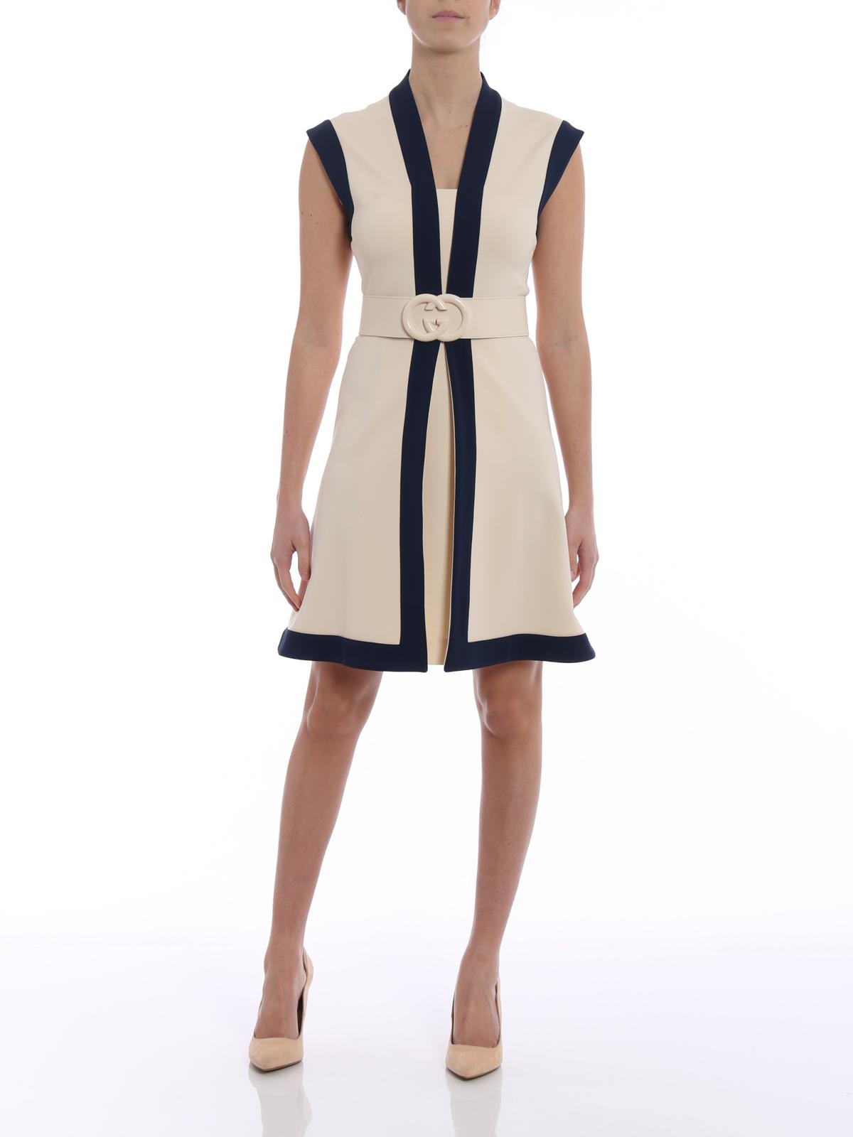 Gucci - Kurzes Kleid - Hellbeige - Kurze Kleider - 17X17S17172170