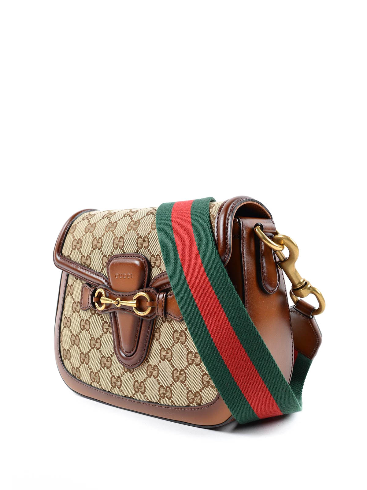 07be939cc857 Gucci - Lady Web Original GG canvas bag - shoulder bags - 383848 ...