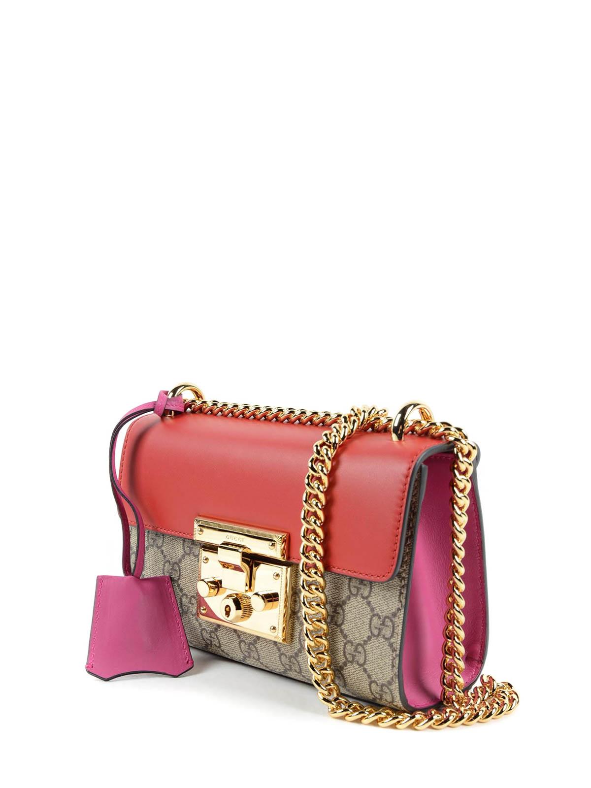bd0ea09e Gucci - Padlock GG Supreme shoulder bag - shoulder bags - 409487 ...
