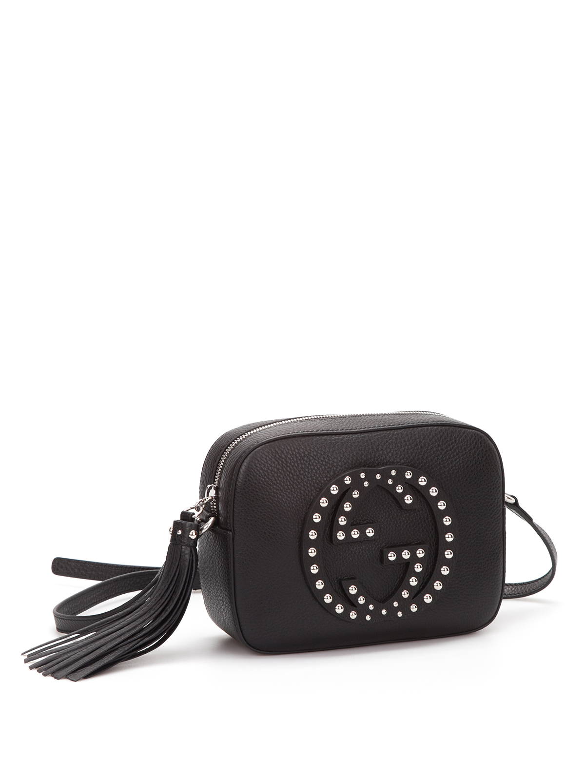 b49775bffbf Gucci - Soho studded leather disco bag - shoulder bags - 308364 ...