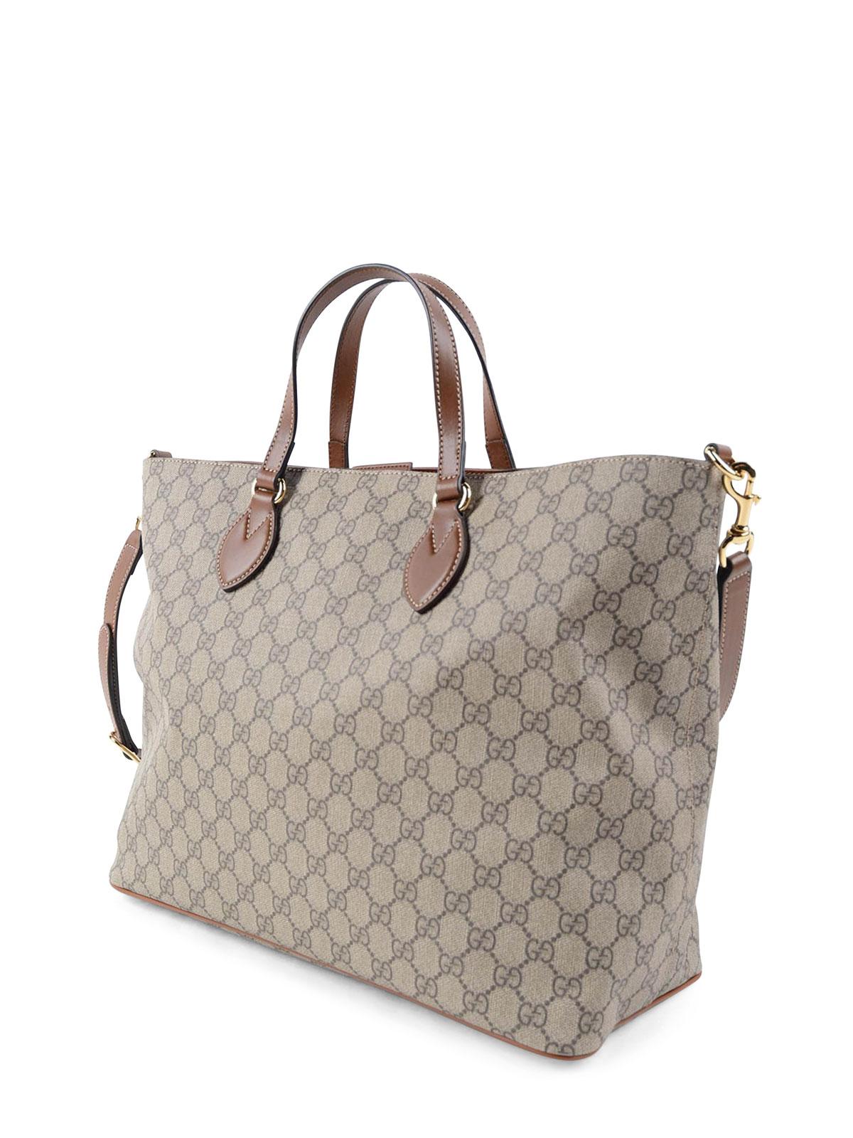 fabc032b2d95 Gucci - GG Supreme canvas tote bag - totes bags - 453705K5I2G 8526
