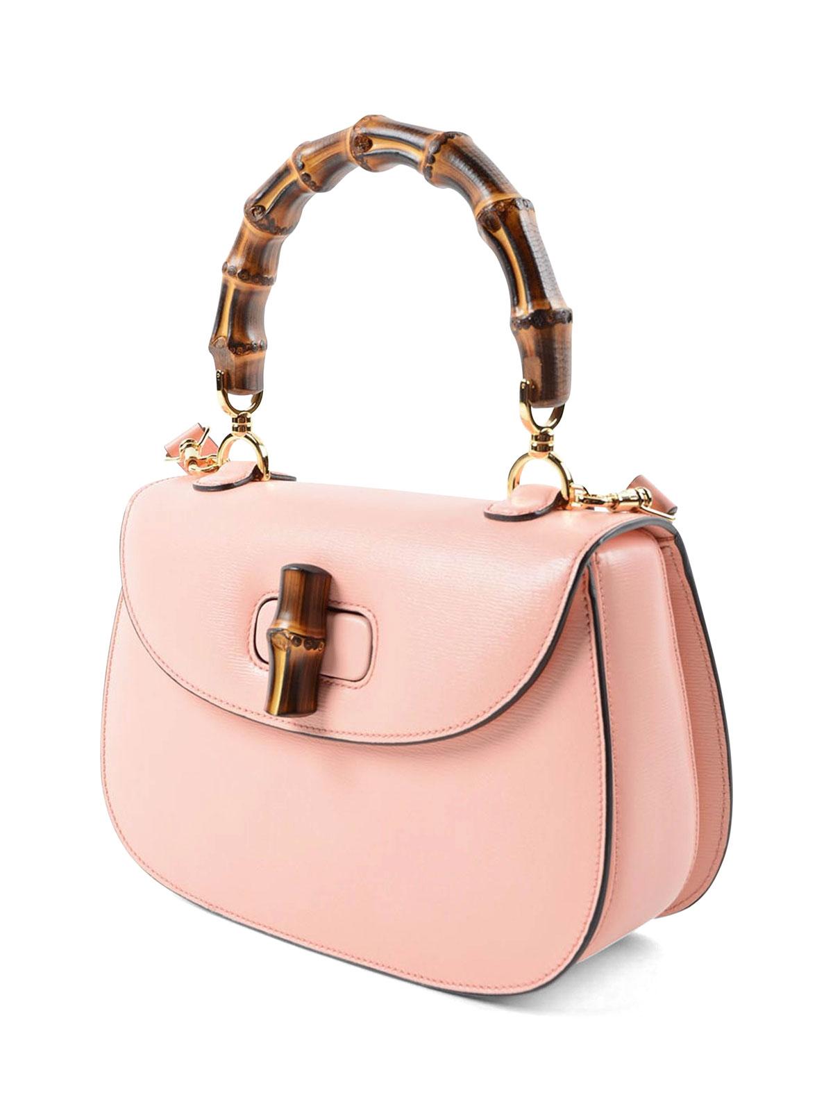 85e21bcd651 Gucci - Gucci Bamboo leather small tote - totes bags - 409398 ARU0G 6807