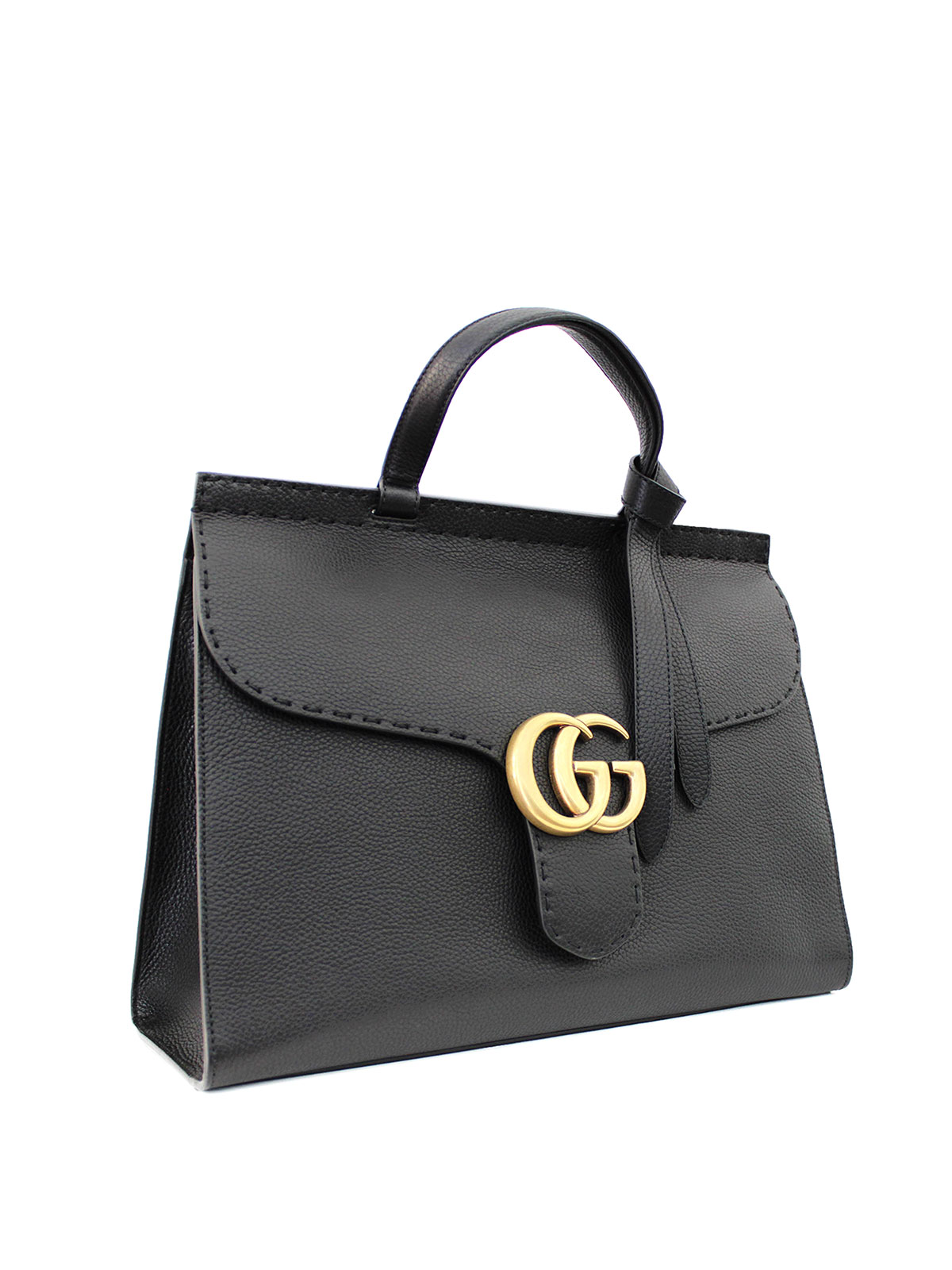 f3def0f4c82 Gucci - Marmont large leather tote - totes bags - 418702 A7M0T 1000