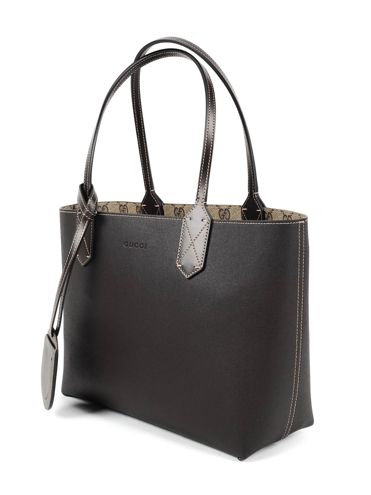 49602bc647 Gucci - Reversible GG leather tote - totes bags - 372613 A9810 9643