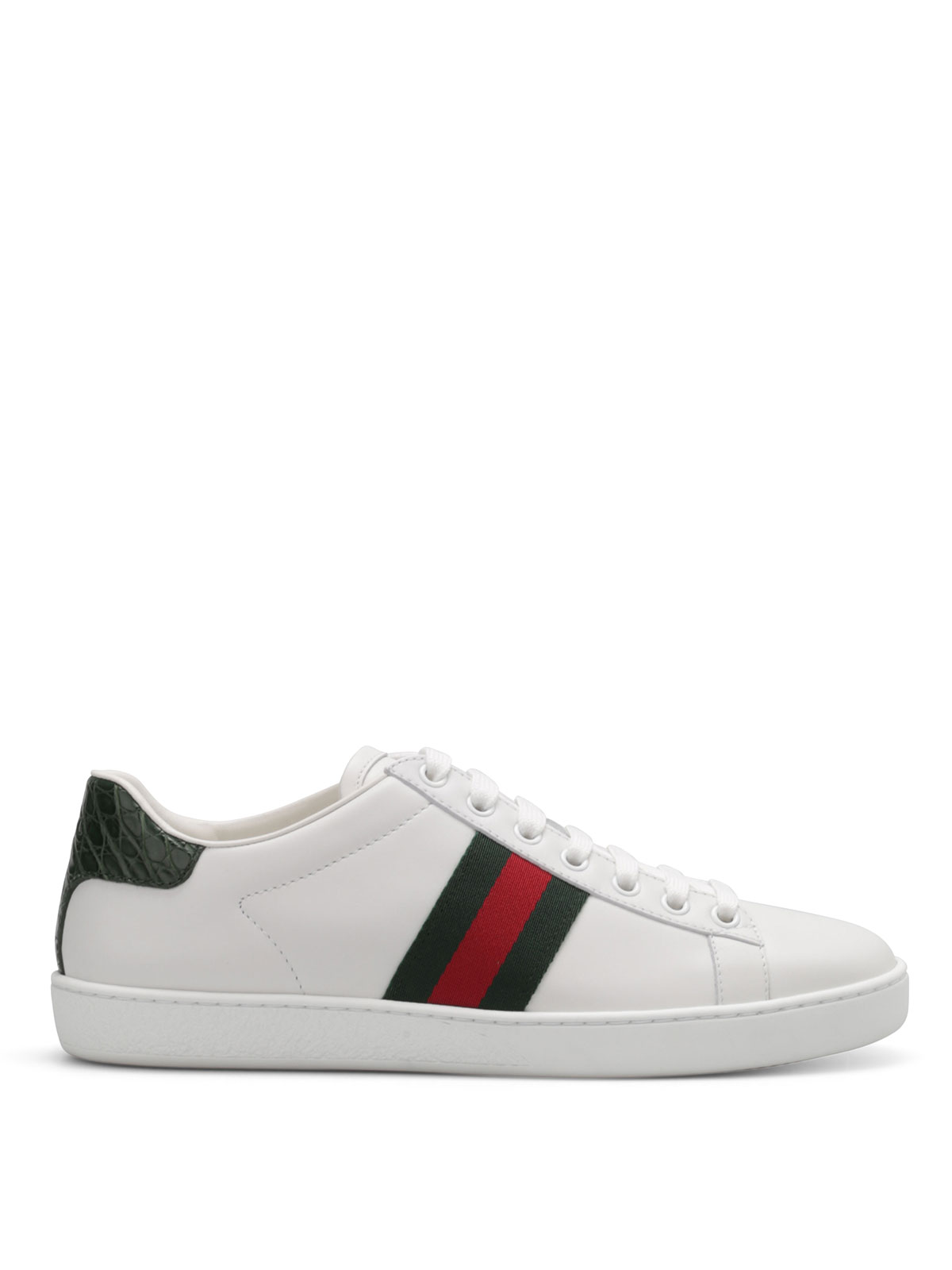 d43a18913c8 Gucci - Crocodile sneakers - trainers - 387993 A3830 9071