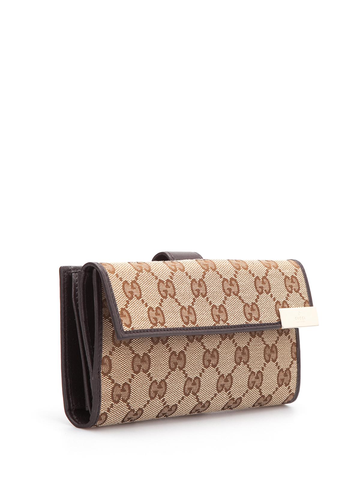 b372282da45 Gucci - GG canvas continental wallet - wallets   purses - 257012 ...