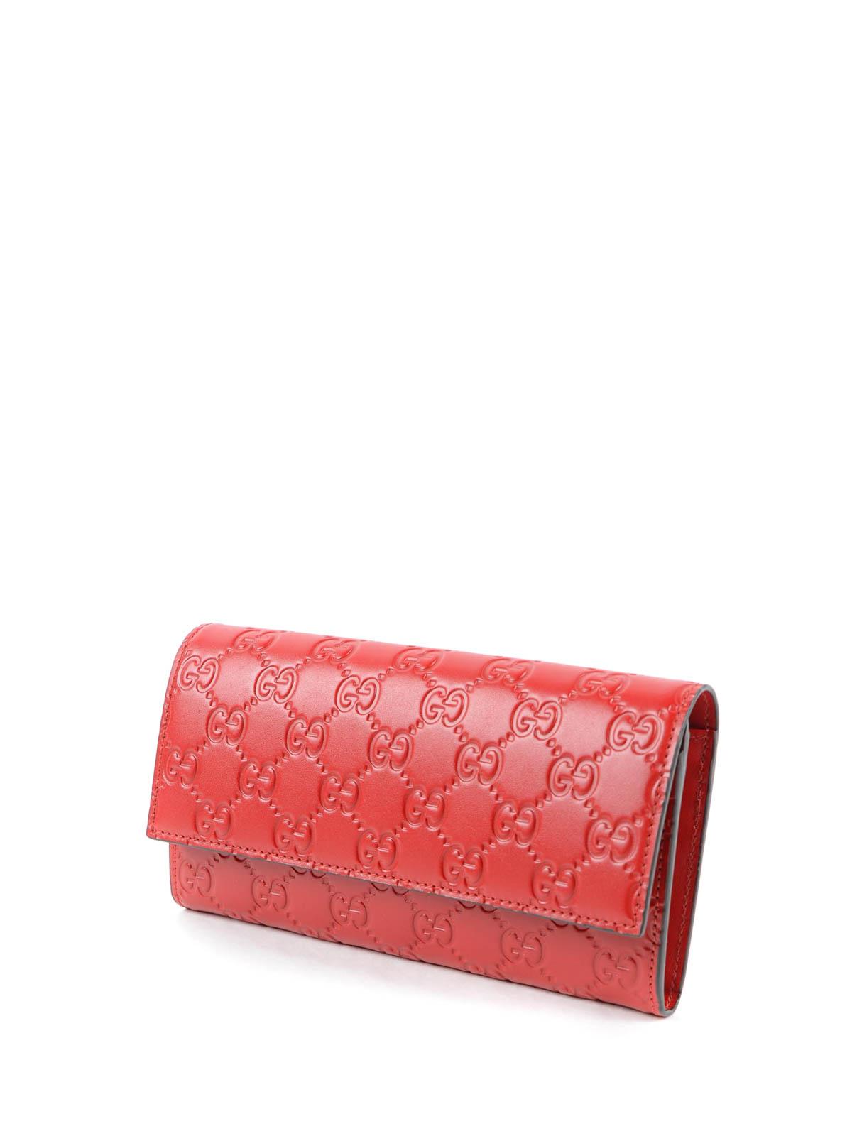 d0041b8ce71b1 GUCCI  Portemonnaies und Geldbörsen online - Portemonnaie Fur Damen - Rot