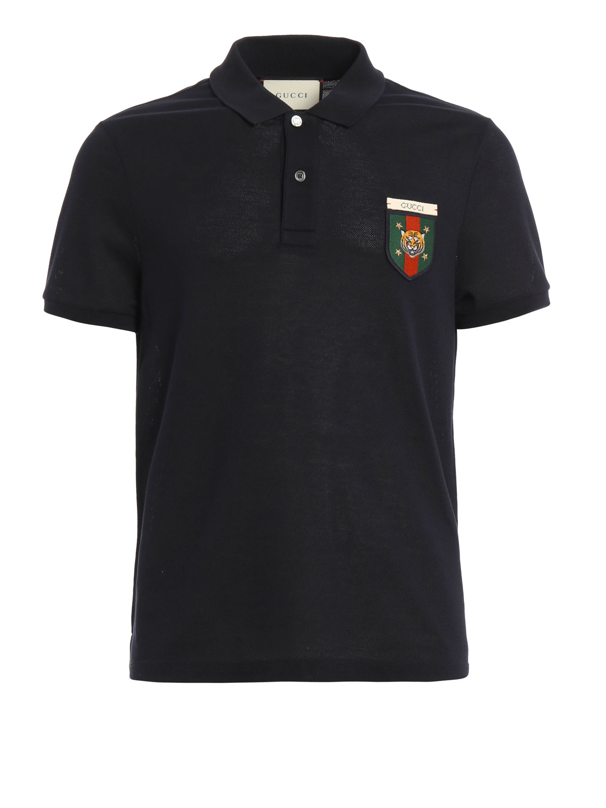 Gucci - Web crest detail polo shirt