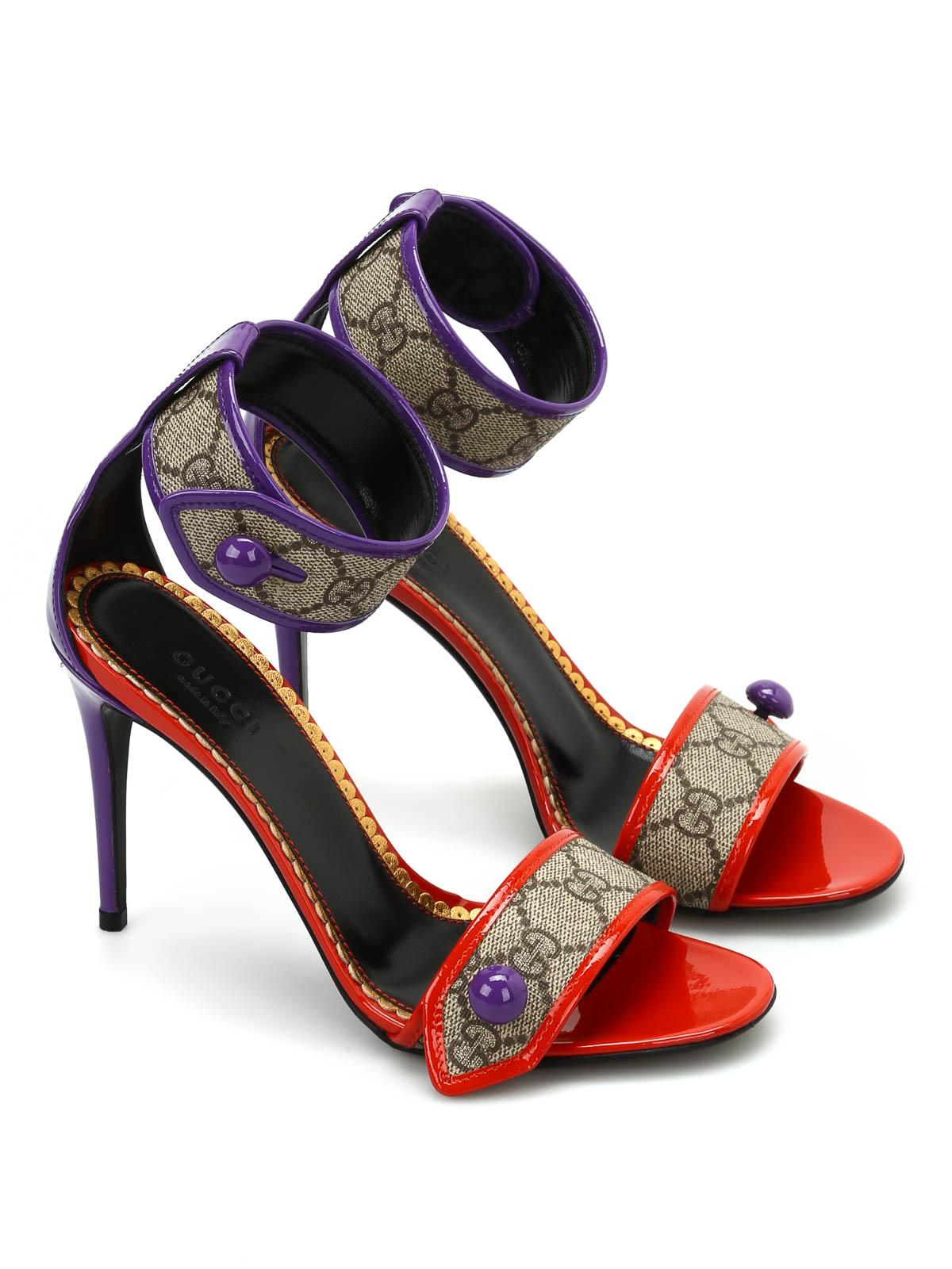a3fe4975c9b9 Gucci - GG Supreme high sandals - sandals - 408273KLQD09764
