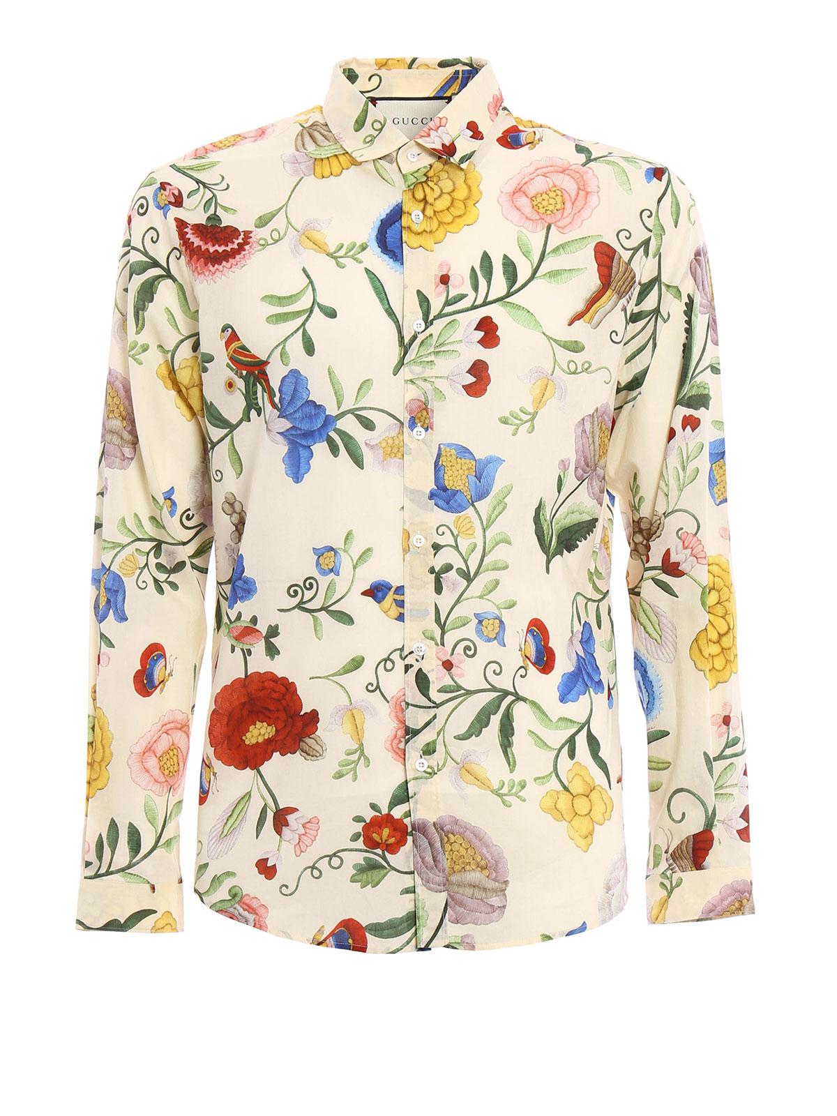 ae2727c5292b3 Gucci - Duke floral pattern shirt - shirts - MJ9 408602 Z326A 9275