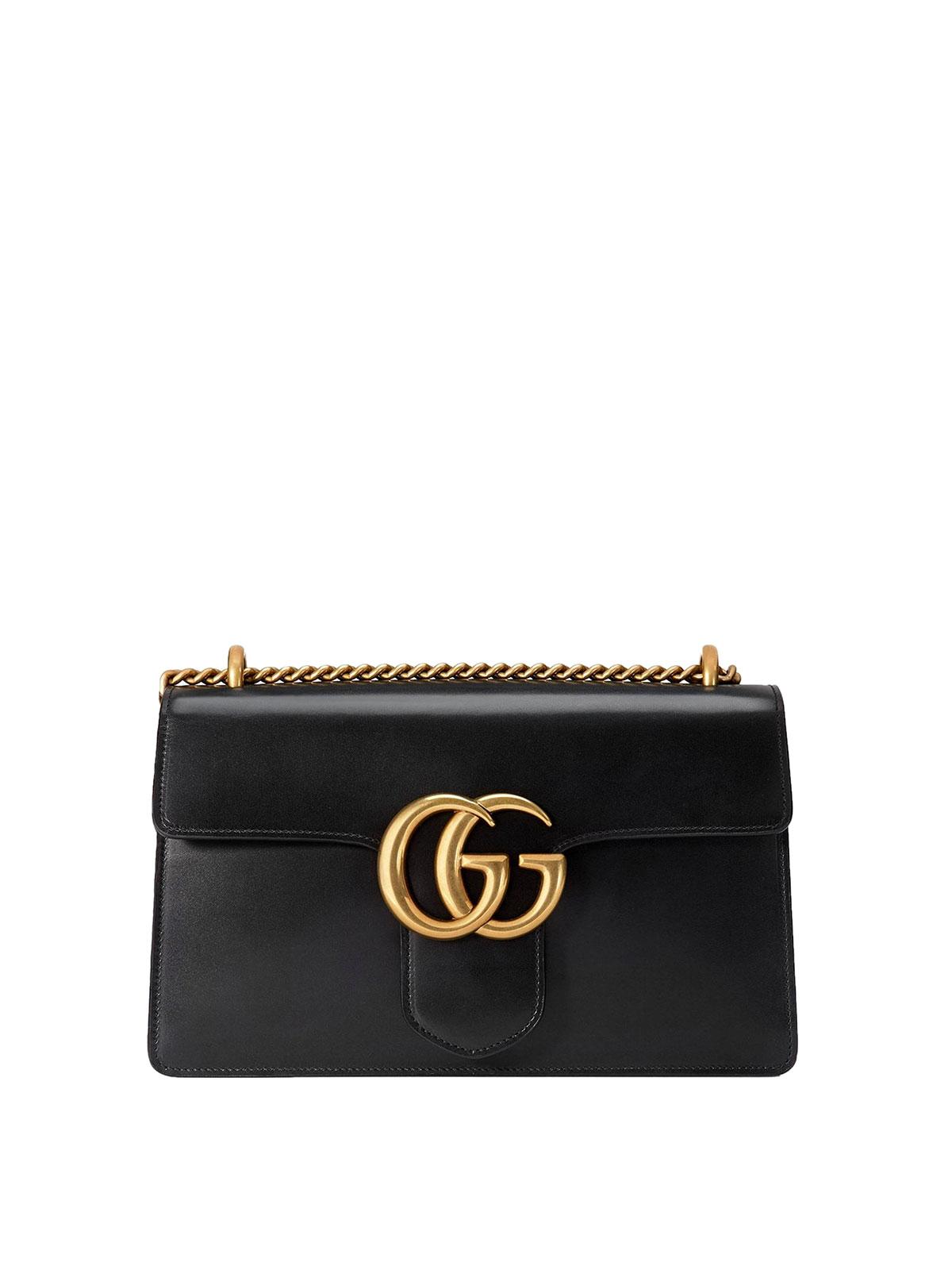 f53a8d76f91 Gucci - Marmont chain shoulder bag - shoulder bags - 431777 CDZ0T 1000