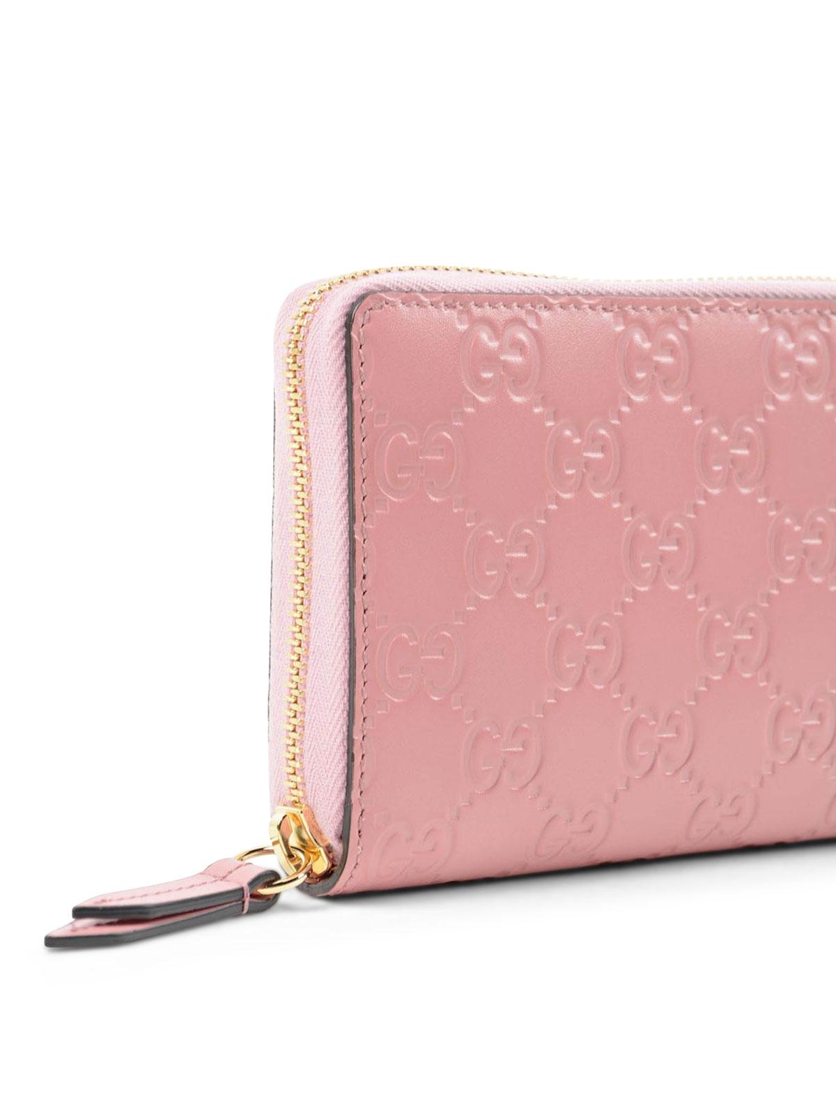 285e4bd9f950d Gucci - Portemonnaie Fur Damen - Pink - Portemonnaies und Geldbörsen ...