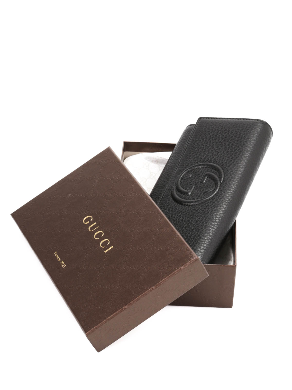 51370bfee37 Gucci - Soho leather continental wallet - wallets   purses - 282414 ...