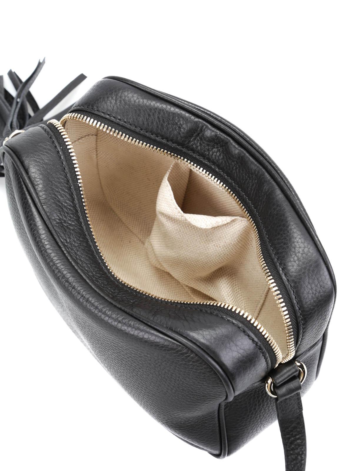Gucci Soho Leather Disco Bag Cross Body Bags 308364 A7m0g 1000 Ikrix