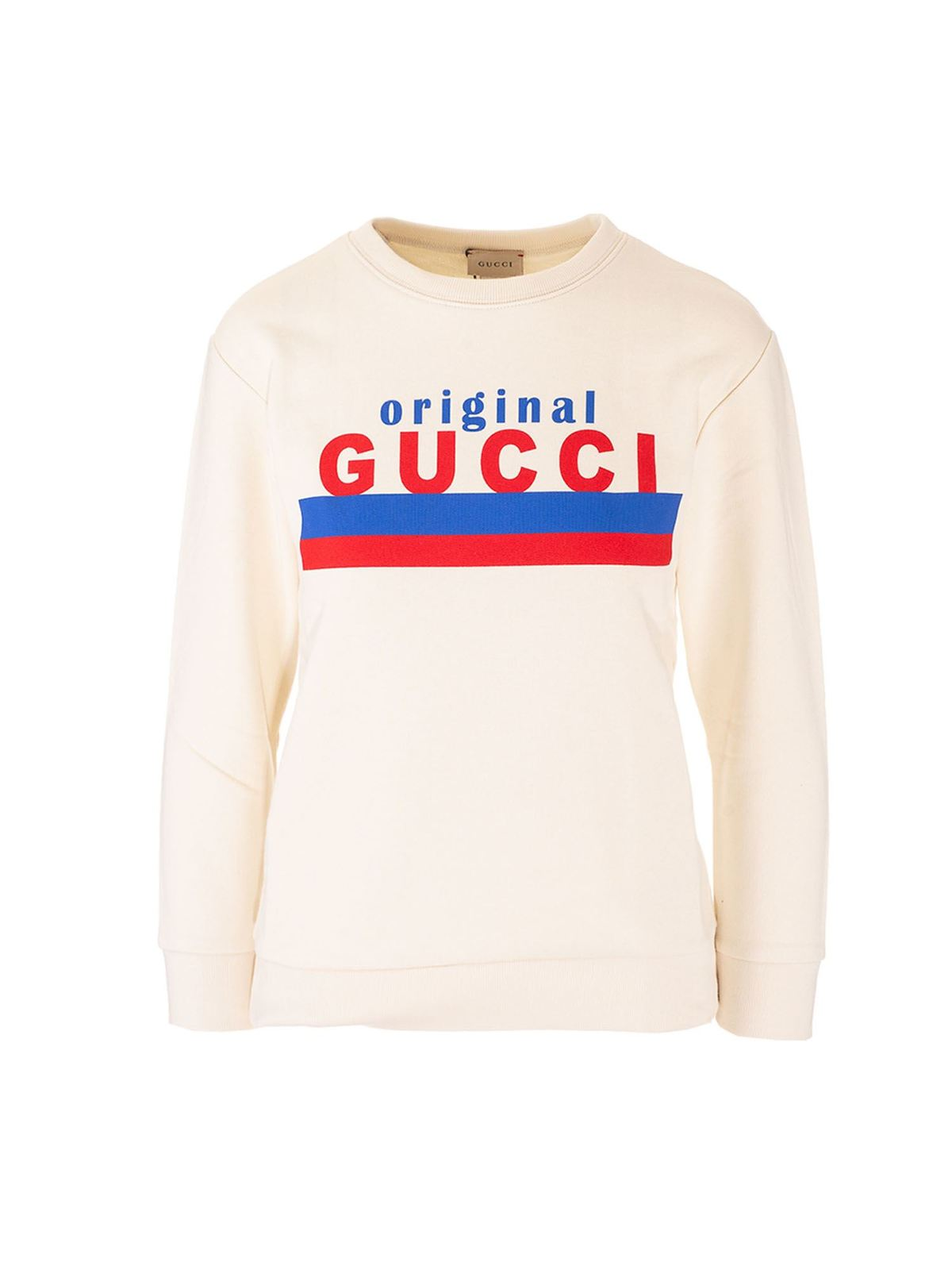 Gucci ORIGINAL GUCCI SWEATERS IN WHITE