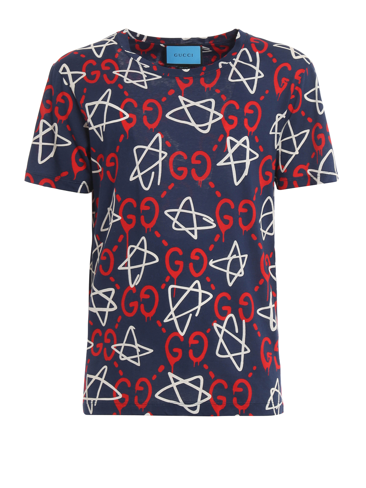 All over guccighost print t shirt by gucci t shirts for All over printing t shirts