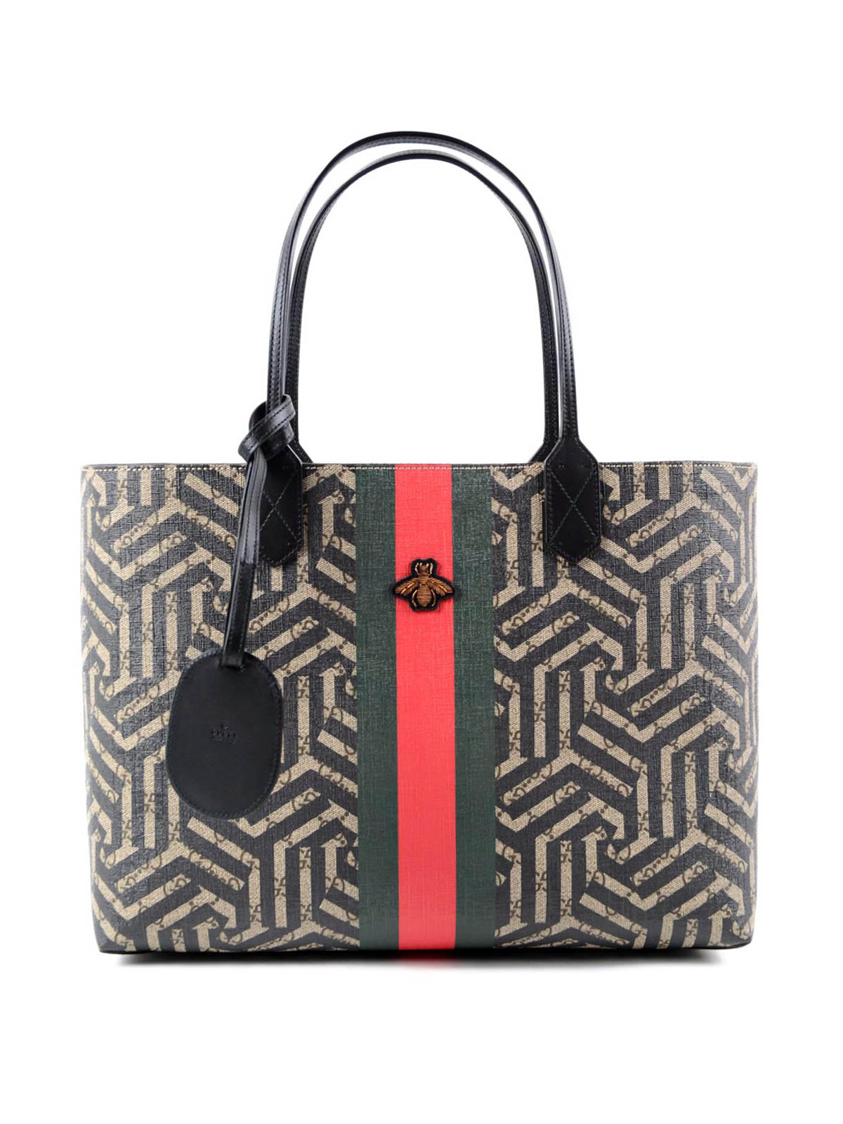 gg caleido web tote bag by gucci totes bags ikrix. Black Bedroom Furniture Sets. Home Design Ideas