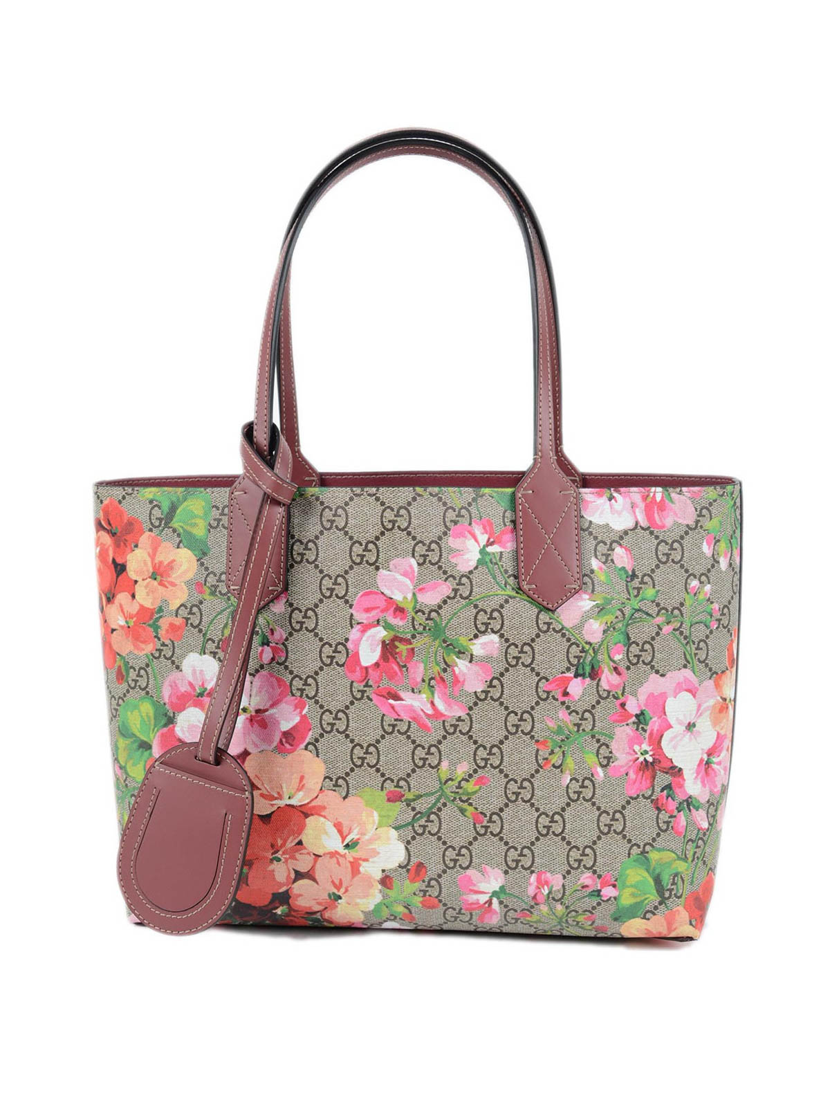 265d322a1184 Gucci - Reversible GG Blooms leather tote - totes bags - 372613 ...