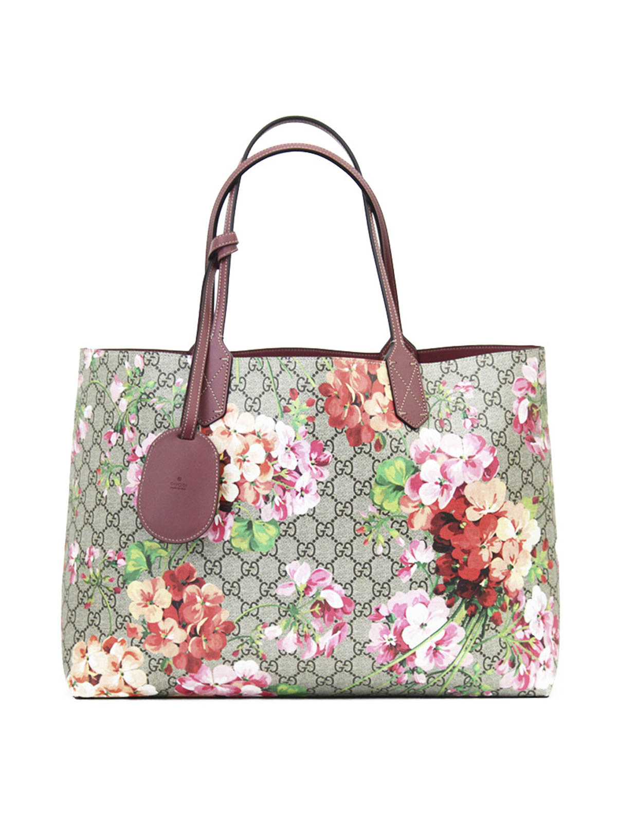 394017eae67c Gucci - Reversible GG Blooms leather tote - totes bags - 368568 ...