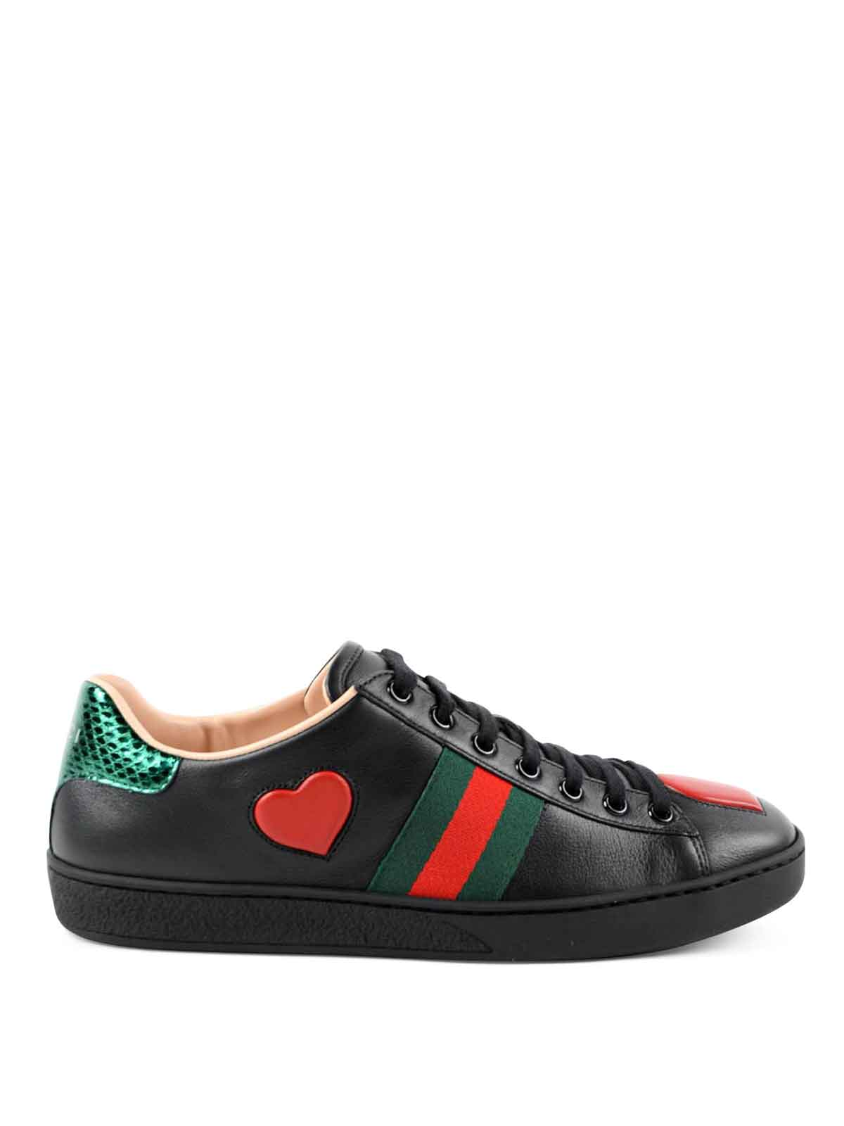 ace embroidered sneakers by gucci trainers ikrix. Black Bedroom Furniture Sets. Home Design Ideas