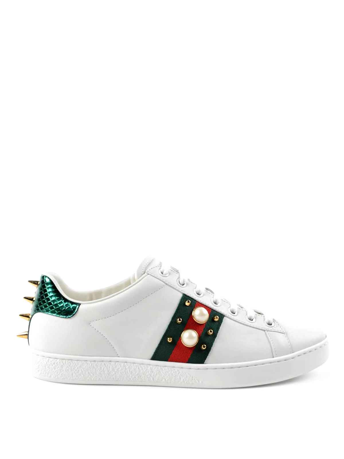 ace sneakers by gucci trainers ikrix. Black Bedroom Furniture Sets. Home Design Ideas