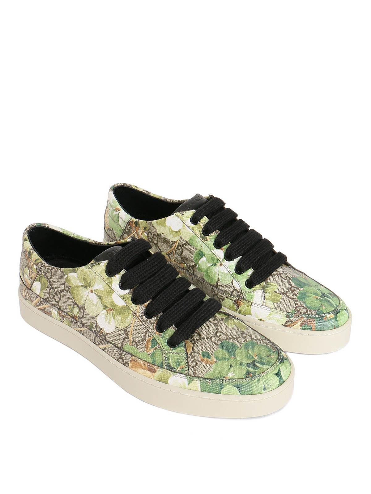 Gucci - Blooms print sneakers