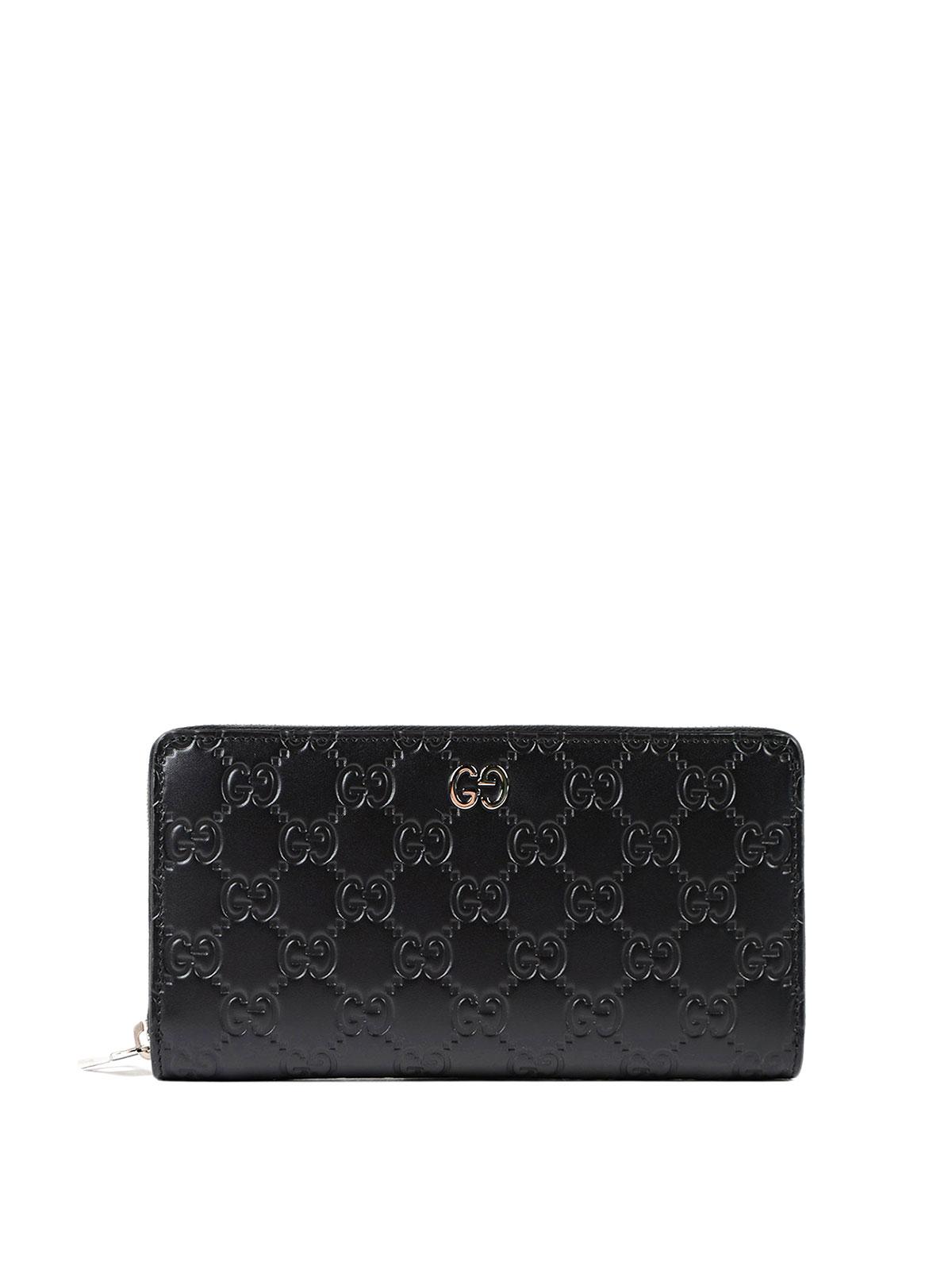 a4cade76ecdf Gucci - Gucci Signature zip-around wallet - wallets & purses ...