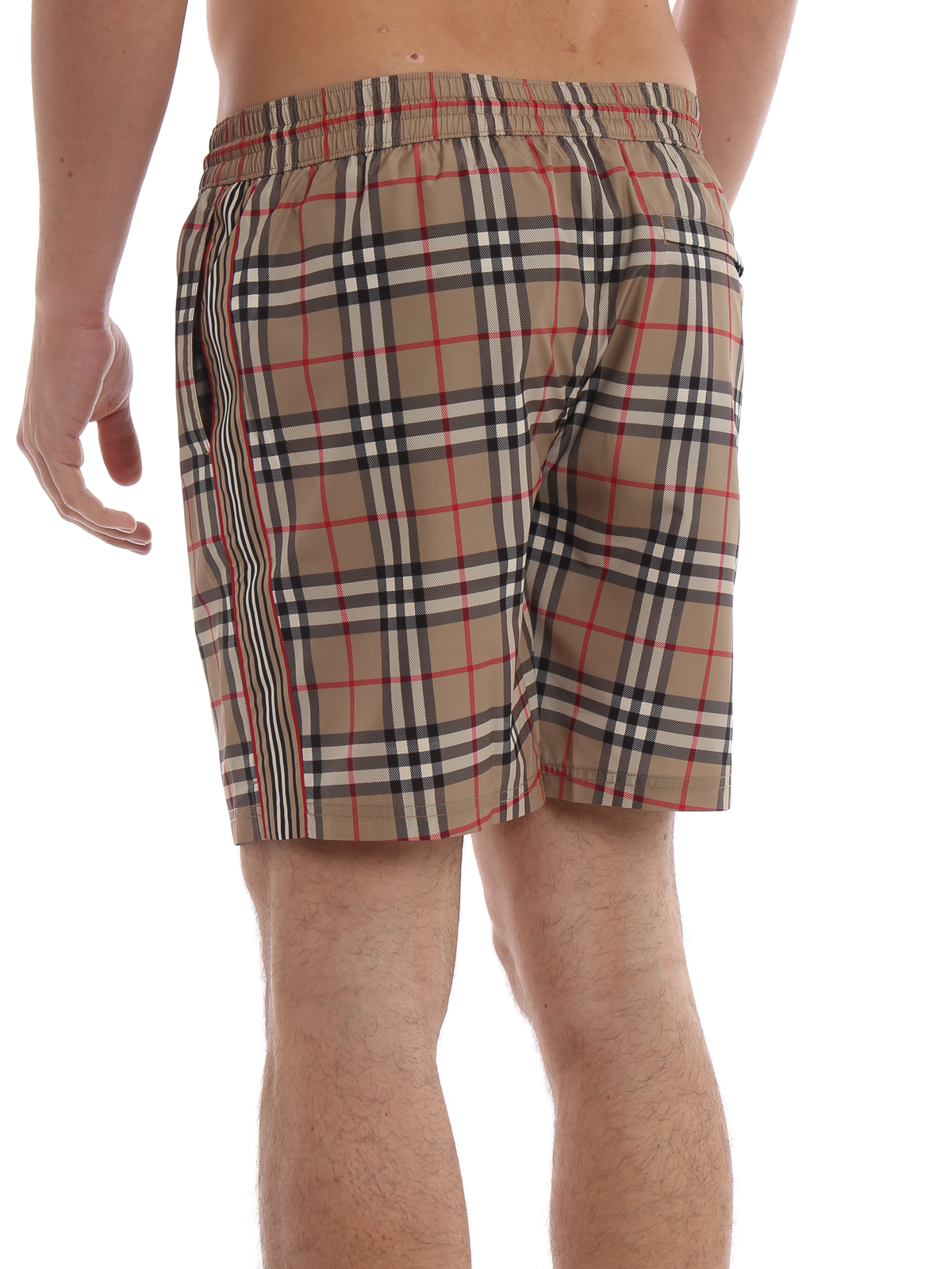 906cd08127 Burberry - Guildes archive Check swim shorts - Swim shorts ...