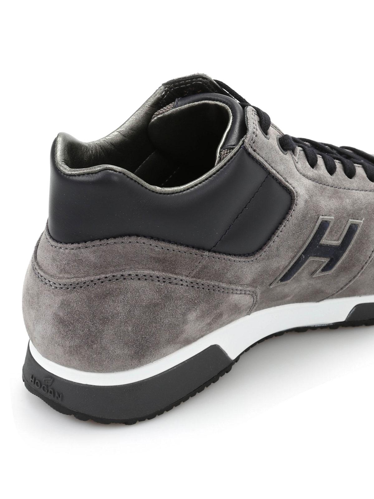 Trainers Hogan - H198 mid cut sneakers - HXM1980O430E5G4190 ...