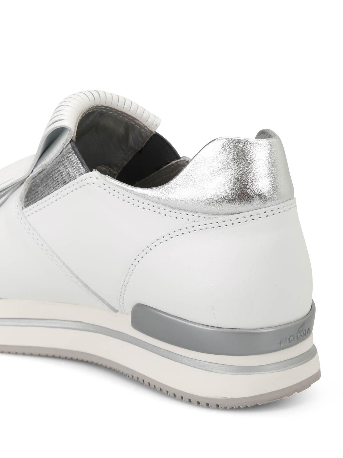 Hogan - H222 fringed slip-on sneakers - trainers - HXW2220AH80IEC0351