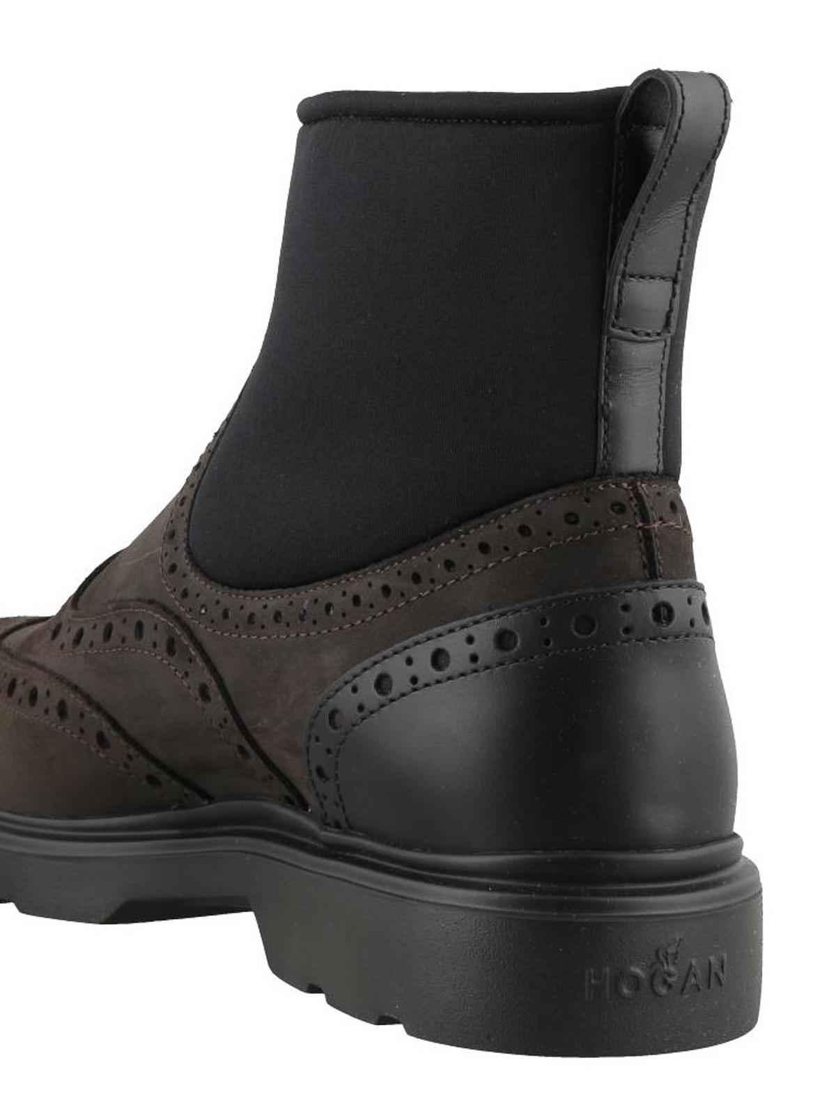 Hogan - H304 nubuck ankle boots - ankle boots - HXM3930AL90JFJ1117