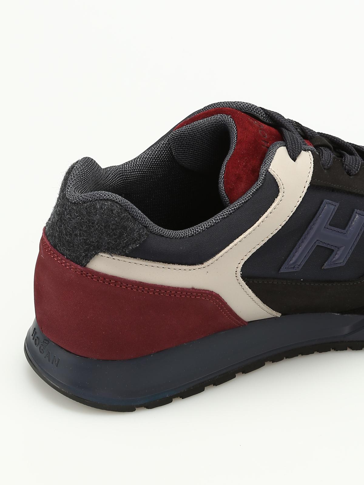 Hogan - Sneaker stringate H321 - sneakers - HXM3210Y850H5S9E7G ... f38d0096719