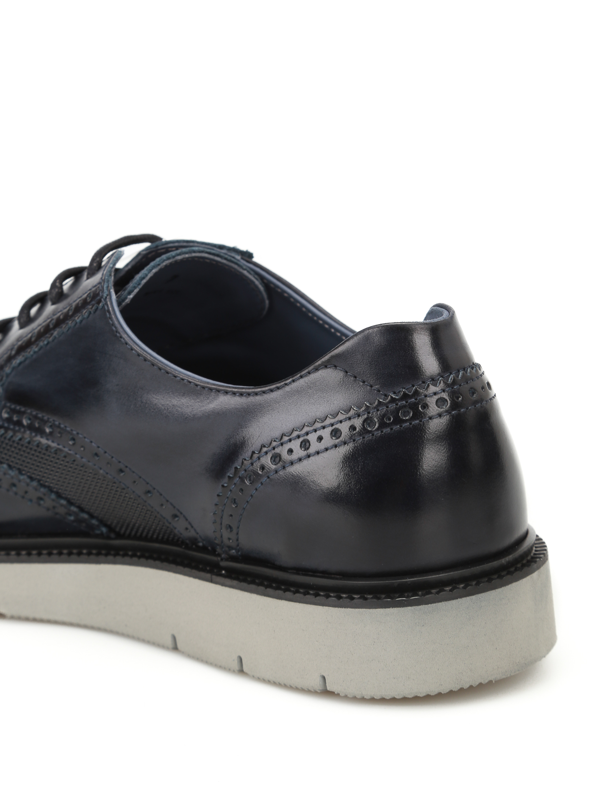 Hogan H322 smooth leather derby shoes آکسفورد